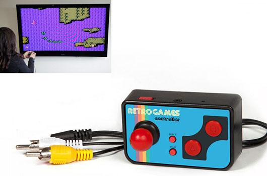 Mini Manette de 200 Jeux TV