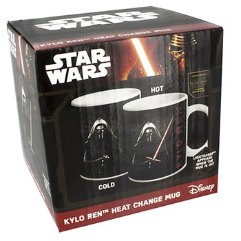 Mug Kylo Ren Star Wars Thermo-réactif
