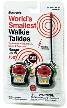 mini talkies-walkies