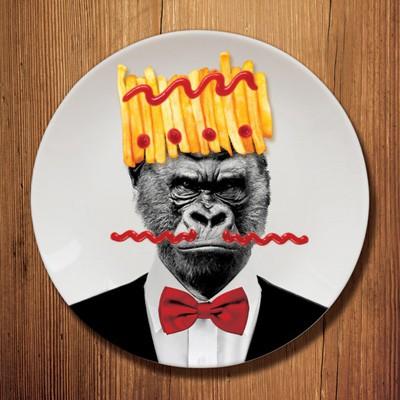 Assiette Gorille