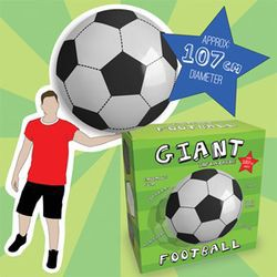ballon de foot gonflable g ant. Black Bedroom Furniture Sets. Home Design Ideas