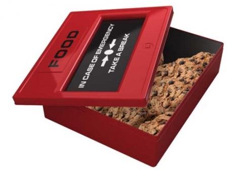 Boîte à Biscuits d'Urgence