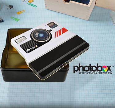 Boite à Biscuits Polaroid
