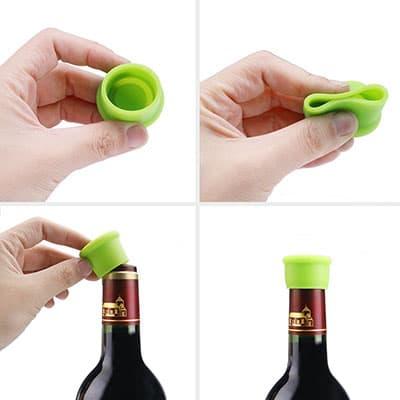 Bouchon à Vin en Silicone