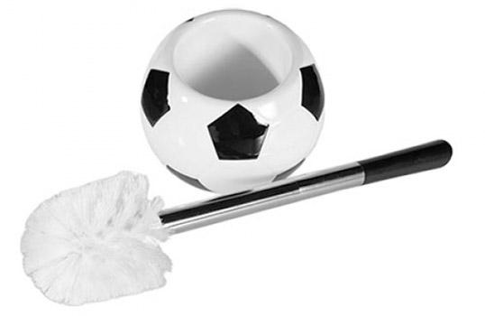 Brosse de Toilettes Football