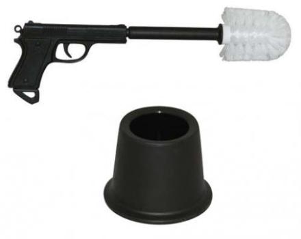 Brosse de Toilettes Pistolet