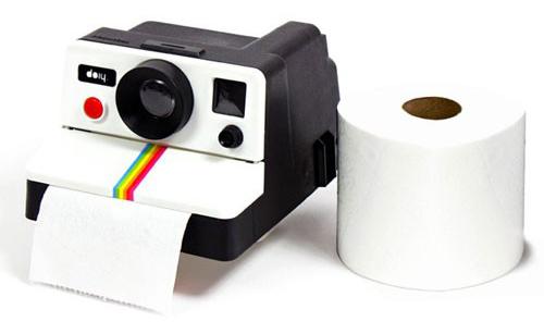 Distributeur de Papier Toilette Polaroid