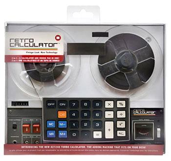 Calculatrice Rétro