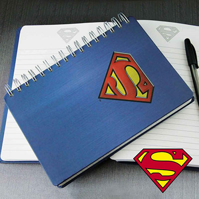 Carnet de Notes Superman