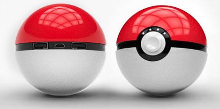 Batterie Externe Pokeball