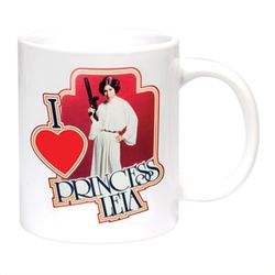 Mug I Love Princesse Leia Star Wars