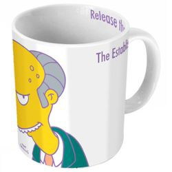 Mug Mr Burns 2D