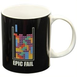 Mug Tetris Epic Fail