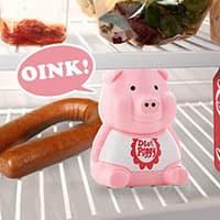 Cochon sonore pour frigo