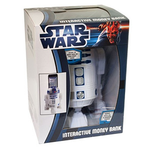 Coffre-Fort R2-D2 Interactif