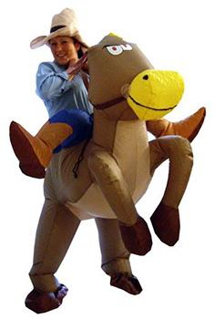 Costume de Cowboy Gonflable