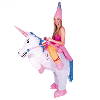 Costume Gonflable de Licorne