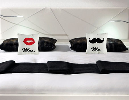 Coussins Mr & Mrs