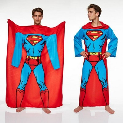 couverture manches superman. Black Bedroom Furniture Sets. Home Design Ideas