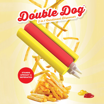Distributeur de Condiments Hot-Dog