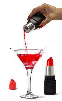 Flasque Rouge à Lèvres
