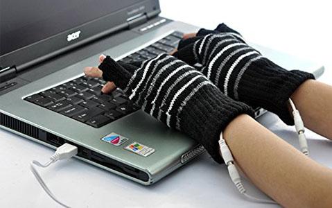 Gants USB Chauffants