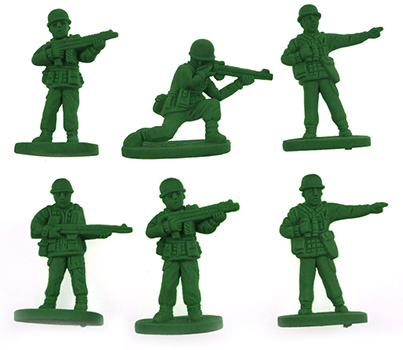 Gommes Petits Soldats