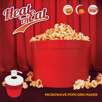Cuiseur à Pop-Corn au Micro-Ondes