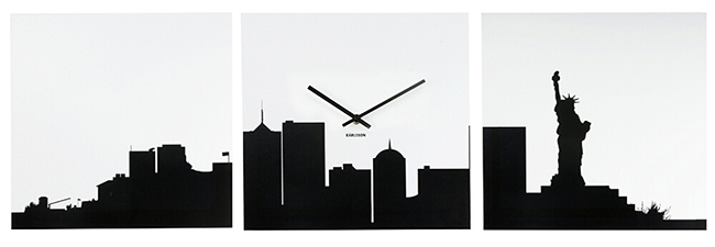 Horloge New York Panorama