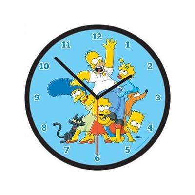 Horloge famille simpson - Reveil simpson ...