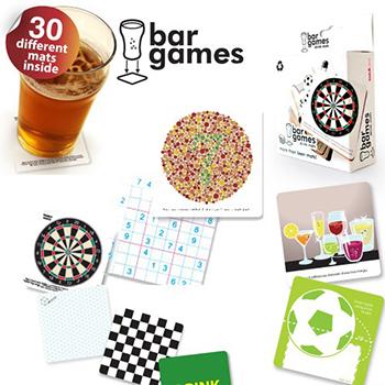 Dessous de Verre Jeux de Bar