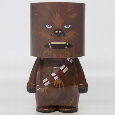 lampe d 39 ambiance chewbacca star wars. Black Bedroom Furniture Sets. Home Design Ideas