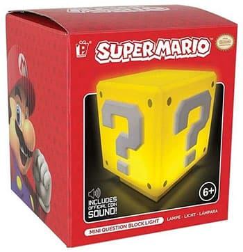 Mini Lampe Super Mario Cube Mystère
