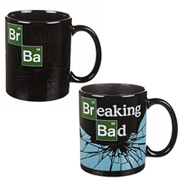 Mug Breaking Bad Thermo-réactif