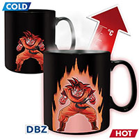 mug dragon ball z thermo-réactif