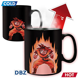 Mug Dragon Ball Z Thermo-réactif Sangoku
