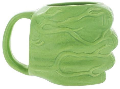 mug 3D poing de Hulk