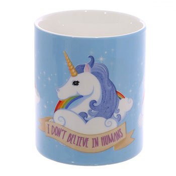 Mug Licorne I Don`t Believe in Humans