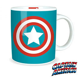 Mug Logo Captain America Marvel