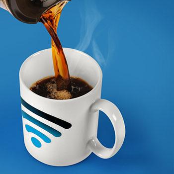 Mug Signal Wifi Thermo-réactif