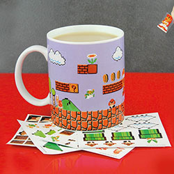 Mug Super Mario Bros Personnalisable