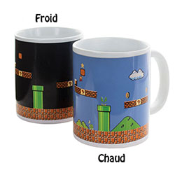Mug Super Mario Bros Thermo-réactif