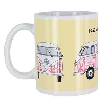 Mug Combi VW thermo-réactif