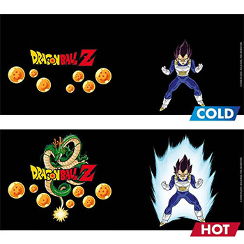 Mug Dragon Ball Z Thermo-réactif Vegeta