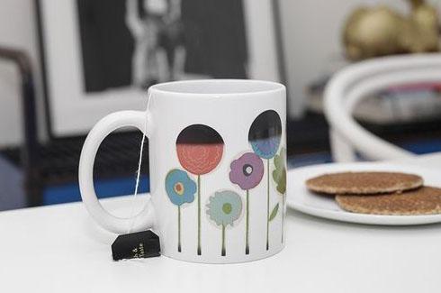 Mug Fleurs Thermo-Réactif