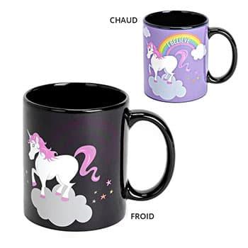 Mug Licorne Thermo-réactif