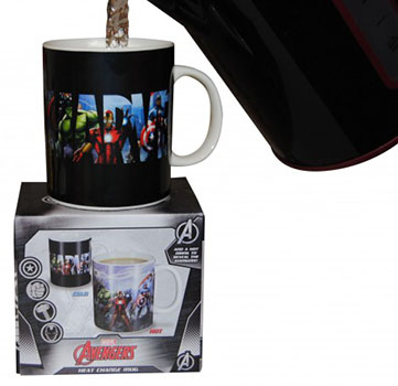 Mug Marvel Thermo-réactif