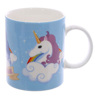 Mug Licorne I Don't Believe in Humans