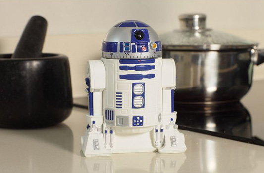 Minuteur de cuisine r2d2 star wars for Tablier de cuisine star wars