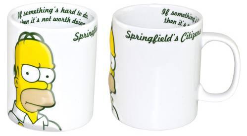 Mug Homer Simpson 2D